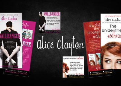 Alice Clayton – The Redhead series and Cocktail Series