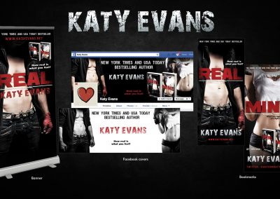 Katy Evans – 'Real' and 'Mine'